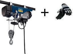 Naviják lanový elektrický HRS 250 Scheppach + rukavice ZDARMA