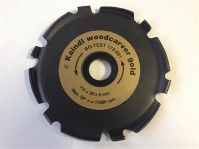 Kotouč na dřevo Woodcarver GOLD Kaindl AKCE