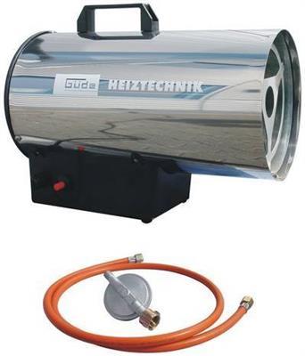 Plynová horkovzdušná turbína GGH 17 INOX GUDE