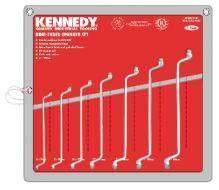 Sada očkoplochých klíčů DIN838 - 11ks, KENNEDY