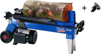 Štípač na dřevo 4t, HL 650 VARIO, SCHEPPACH + dárek RUKAVICE ZDARMA