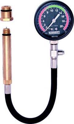 Měřič komprese pro zážehové motory, kompresiometr