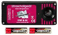 STOP & GO Ultraschallgerät mit Alkali-Mangan-Batterien