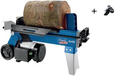 Štípač na dřevo 4t, HL 450, SCHEPPACH + dárek RUKAVICE ZDARMA
