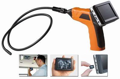 Inspekční endoskop s kamerou, monitorem a záznamem GB 8803 AL