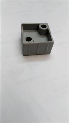 Plastová spojka (kostka) pro profil 30x30x2mm-černá