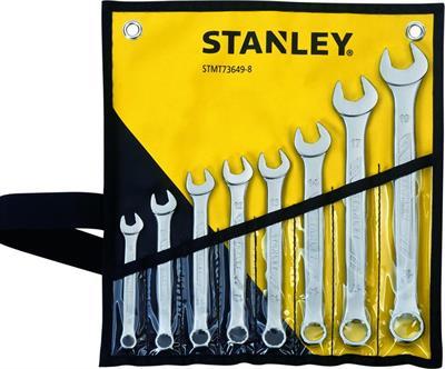 Klíče očkoploché Stanley STMT73649-8, 8-19mm, 8 ks