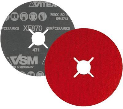 Fíbrový kotouč XF 870 115/P40 VSM