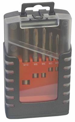 Sada strojních závitníků broušených typ E-4, HSS, M 3-12