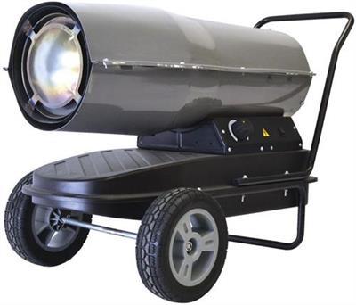 Olejová horkovzdušná turbína GD 30 TI, GUDE