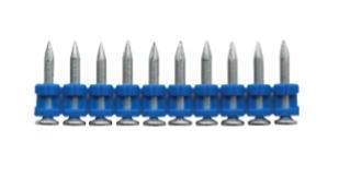 Hřebíky v plastu do hřebíkovačky SC40 Rawlplug + plyn