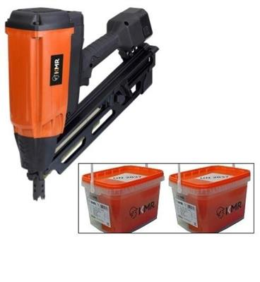 Plynová hřebíkovačka KMR 3890 + 2x hřebíky 90mm