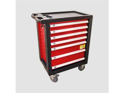 Montážní vozík vybavený 690x465x970mm 232dílů