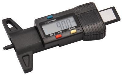 Měřič hloubky profilu / dezénu / vzorku pneumatik digitální Genborx DTDG