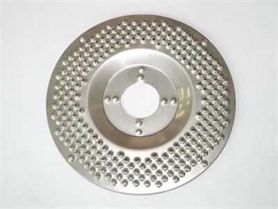 Rotační nerezová rašple SCRAPER pro úhlovou brusku 115