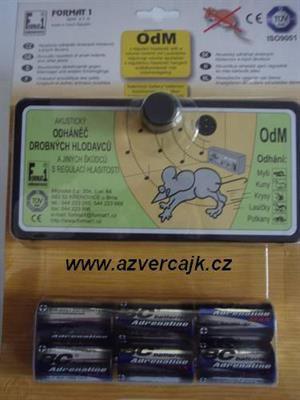OdM-regulB - Akustický odháněč hlodavců OdM-regul s bateriemi v blistru