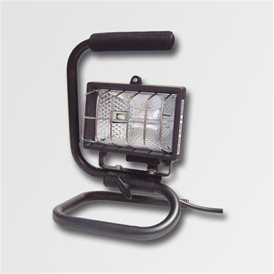 Reflektor 150W černý s držákem