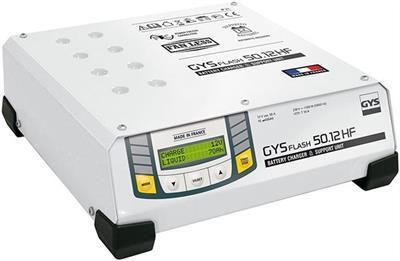 Invertorová automatická nabíječka baterií GYSFLASH 50.12 HF