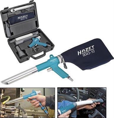 Pneumatická odsávací a ofukovací pistole HAZET 9043N-10