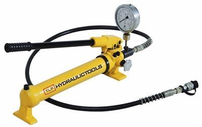 Ruční hydraulická pumpa s tlakoměrem HHB-700B