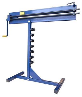 Signovací / obrubovací stroj se stojanem 180-0012