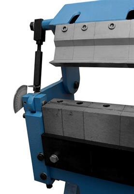 Ruční ohýbačka plechu segmentová W1.5X1050
