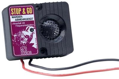 STOP & GO Ultrazvukový odpuzovač kun