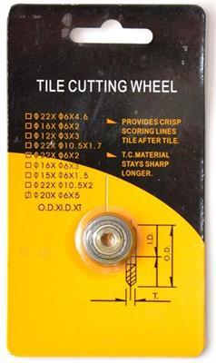 Náhradní řezací kolečko typ 8117 YG6X - 20 k řezačce JT 900