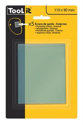 Náhradní vrchní samozatmívací sklo GYS 040816 (5 ks)