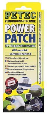 PETEC 85150 Opravárenská záplata s UV-vytvrzováním (75x150 mm)