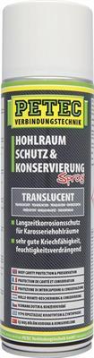 PETEC 73550 Parafinový vosk pro ochranu karosérií, 500 ml