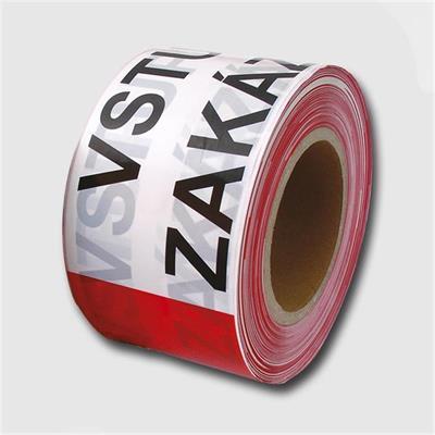 Páska výstražná  250m  ZÁKAZ VSTUPU