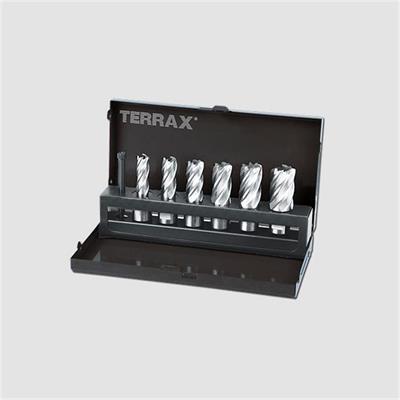 Sada jádrovách vrtáků 12 - 22mm Terrax
