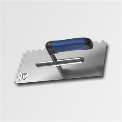 Hladítko 270x127mm zub.4 nerez - softgrip