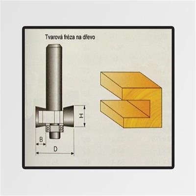 Tvarové frézy do dřeva 9,4x6mm