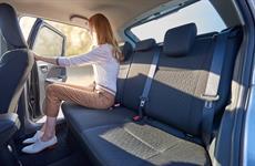 Zadní sedadla Suzuki Baleno