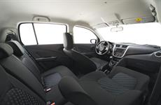 interiér Suzuki Celerio