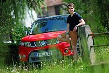 Patrik Děrgel a Suzuki Vitara S