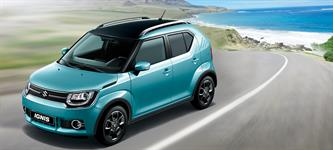 Suzuki Ignis modrá