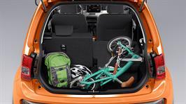 zavazadlový prostor Suzuki Ignis