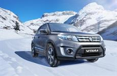 Nová Suzuki Vitara sníh